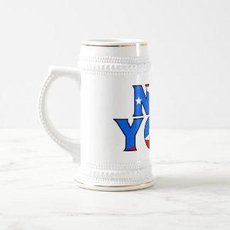 NY - Banda Stein Jarra De Cerveza