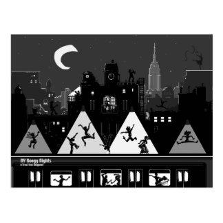NY Boogy Nights Post Cards