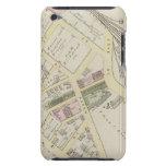 NY Boston y mapa de ferrocarril de Providence iPod Touch Case-Mate Cobertura