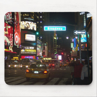 NY, Broadway Mouse Pad