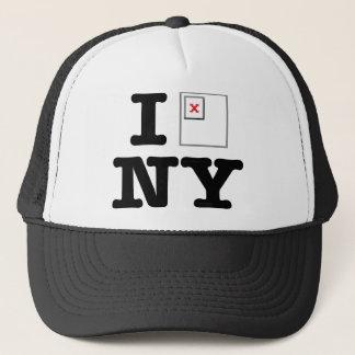 NY Broken Image Trucker Hat