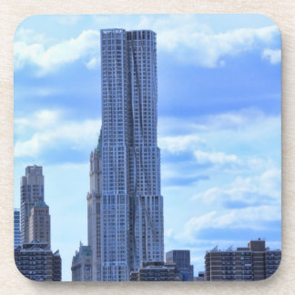 NY By Gehry / 8 Spruce St from the East River A1 Coasters