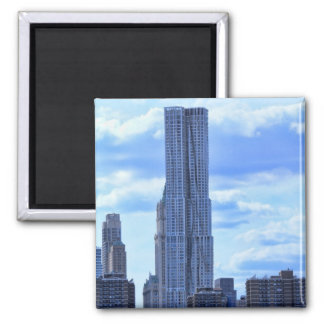 NY By Gehry / 8 Spruce St from the East River A1 Refrigerator Magnet