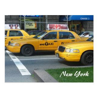 ny cabs postcard