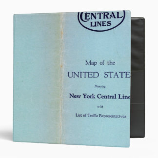 NY Central Lines 3 Ring Binder