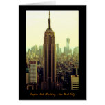 NY City Skyline Empire State Building, WTC 5 Cards