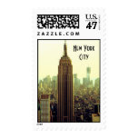 NY City Skyline Empire State Building, WTC 5 Postage