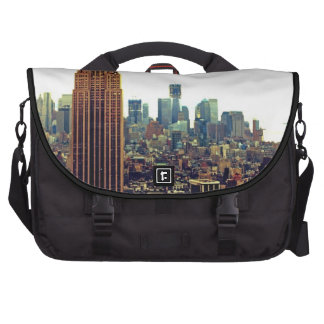 NY City Skyline Empire State Building, WTC 7 Bag For Laptop