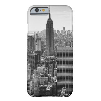 NY City Skyline Empire State Building, WTC BW iPhone 6 Case