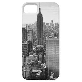 NY City Skyline Empire State Building, WTC BW iPhone SE/5/5s Case