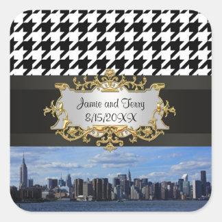 NY City Skyline Invitation Suite - B1 Sticker