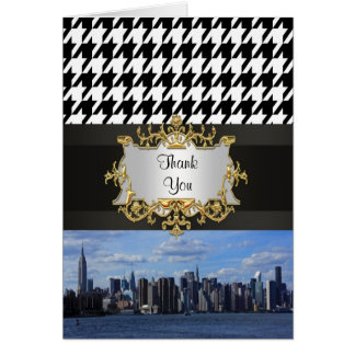 NY City Skyline Invitation Suite - B1 Thank You Stationery Note Card