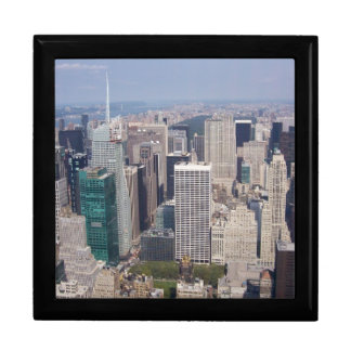 NY city view on gift box by bbillips