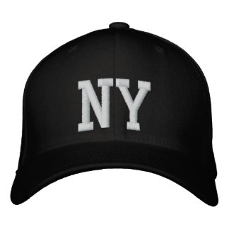 NY Custom Cap - Black and White