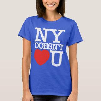 NY doesn't Heart (Love) U T-Shirt