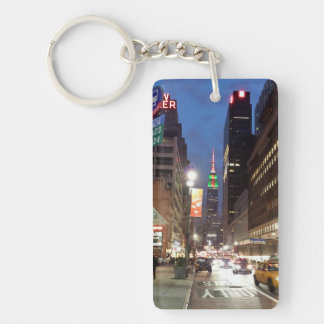 NY Empire State Building Keychain