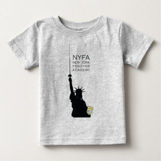 NY Fencing Statue of Liberty Infant Shirt