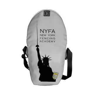 NY Fencing Statue of Liberty Mini Messenger Bag
