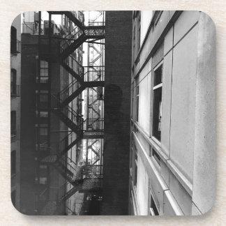 NY Fire Escapes Coaster