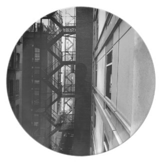 NY Fire Escapes Plate