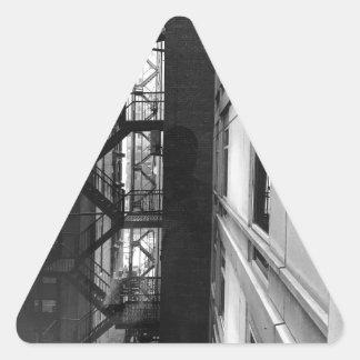 NY Fire Escapes Triangle Sticker