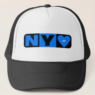 NY Got Heart Trucker Hat