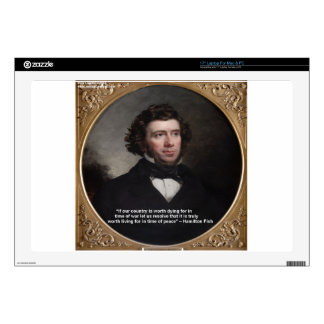 NY Gov Hamilton Fish Wisdom Quote Gifts & Cards Decals For Laptops