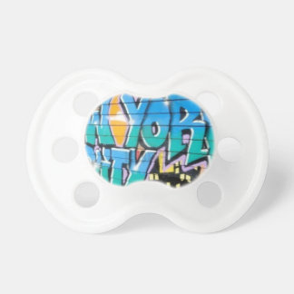 ny graffiti BooginHead pacifier