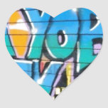 ny graffiti heart sticker
