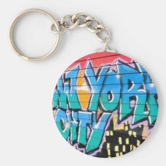 ny graffiti keychain