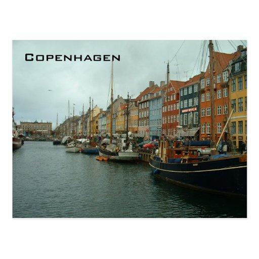Ny Haven Postcard