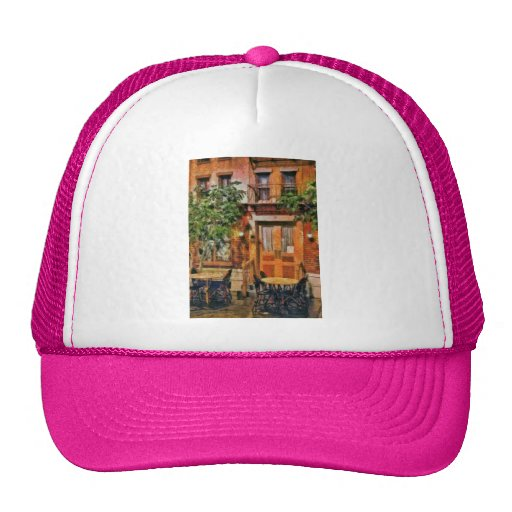 NY - Hotel - A look at Greenwich Village Trucker Hat