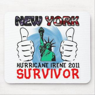 NY Hurricane Irene 2011 Survivor Mouse Pad