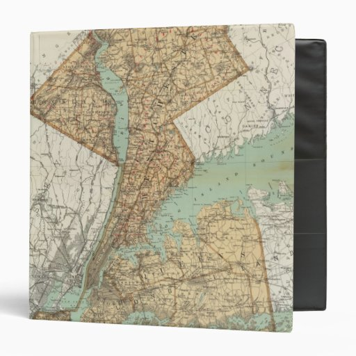 NY, Kings, Queens, Richmond, Rockland 3 Ring Binder