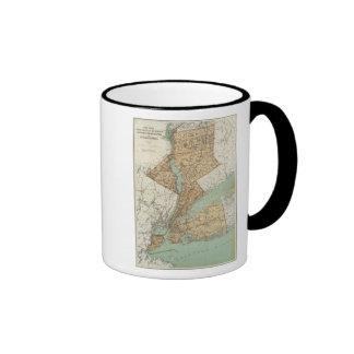 NY, Kings, Queens, Richmond, Rockland Ringer Mug