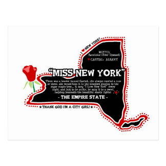 """NY """"Know It All"""" Postcard"""