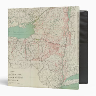 NY land grants, patents, purchases Binder