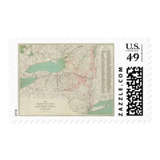 NY land grants, patents, purchases Postage