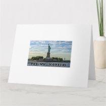 NY liberty Card