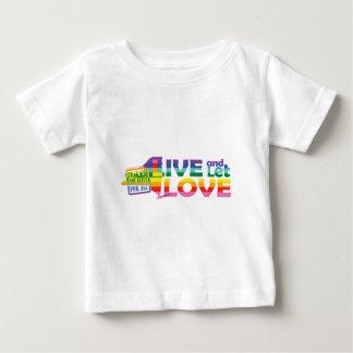 NY Live Let Love Baby T-Shirt