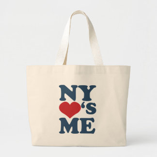 NY Loves Me Canvas Bags