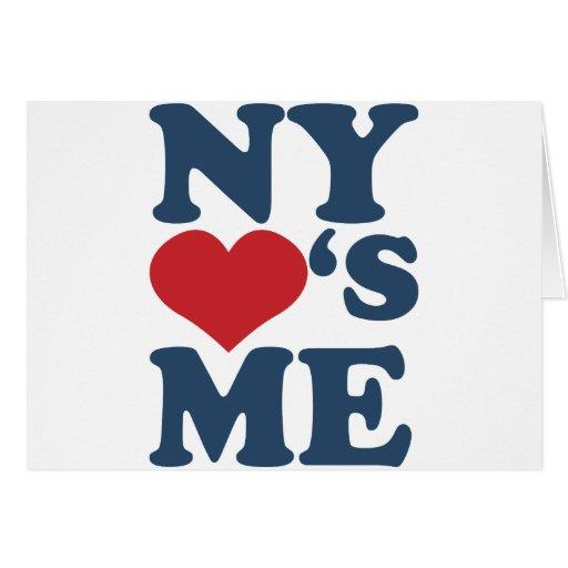 NY Loves Me Card