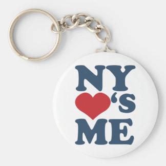 NY Loves Me Keychain