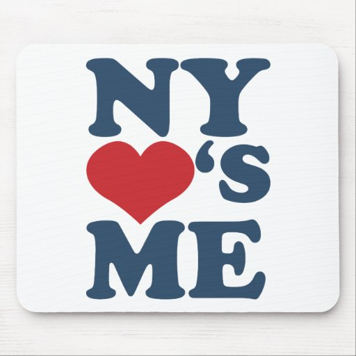 NY Loves Me Mouse Pad