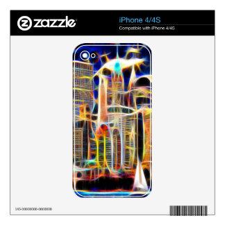 NY Manhattan iPhone 4S Skin