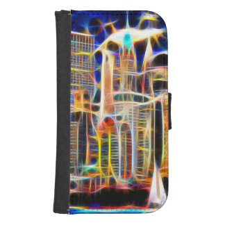 NY Manhattan Wallet Phone Case For Samsung Galaxy S4