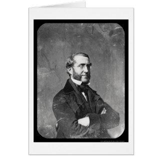 NY Mayor Havemeyer Daguerreotype 1854 Card