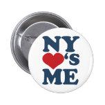 NY me ama Pins