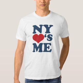 NY me ama Playeras