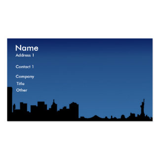 ny, Name, Address 1, Company, Title, Other, Con... Business Card Template